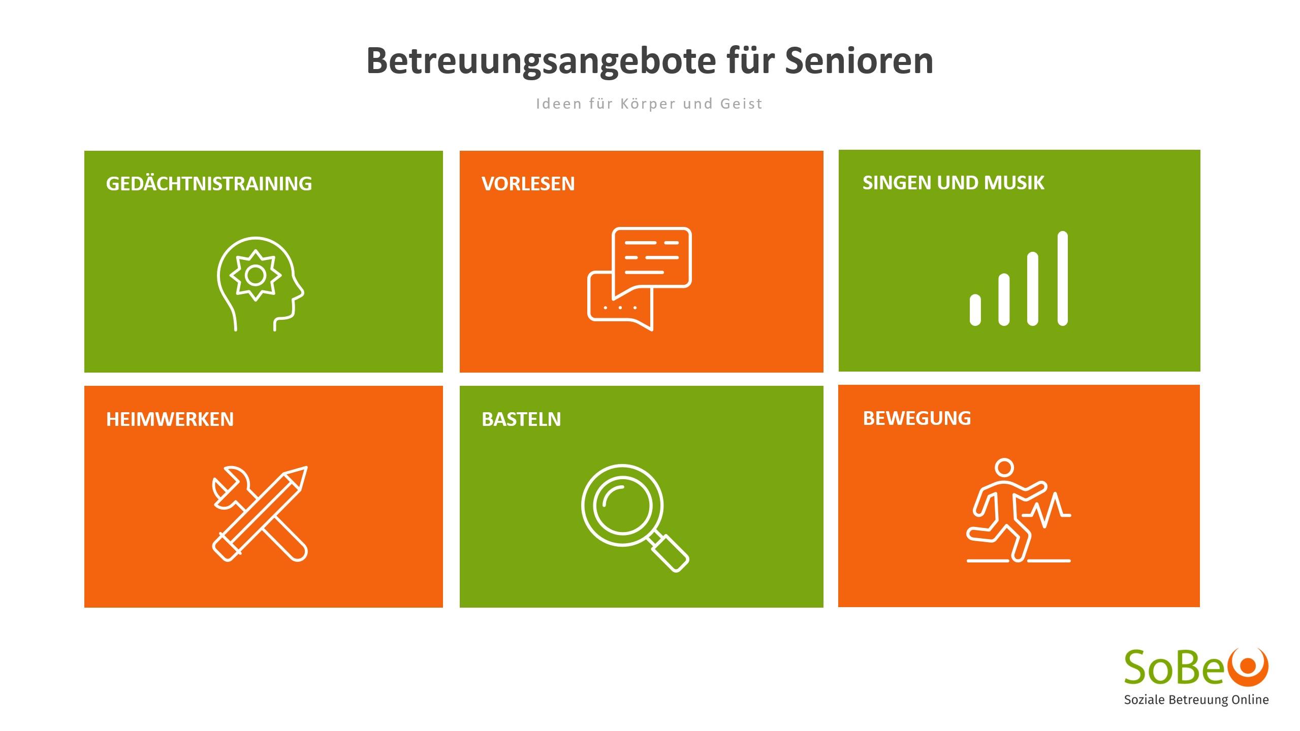 Tipps für Senioren, Betreuung von Senioren, Senioren beschäftigen