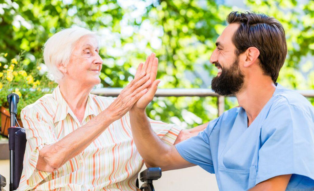 Feedback nach Wochenplanung der Senioren einholen, positives Feedback nach Wochenplan, negatives Feedback nach Wochenplanung
