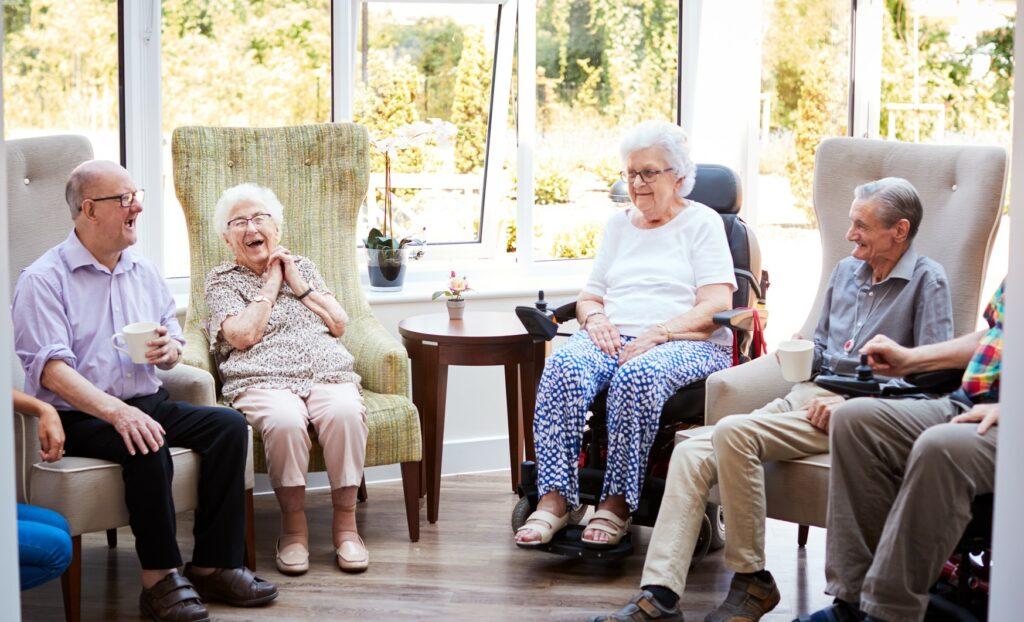 Stuhlkreis mit Senioren, Spiele mit Senioren, Wortspiele Senioren