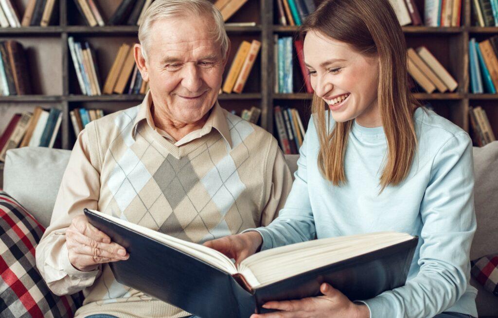 Demenz vorlesen, Vorlesen Senioren